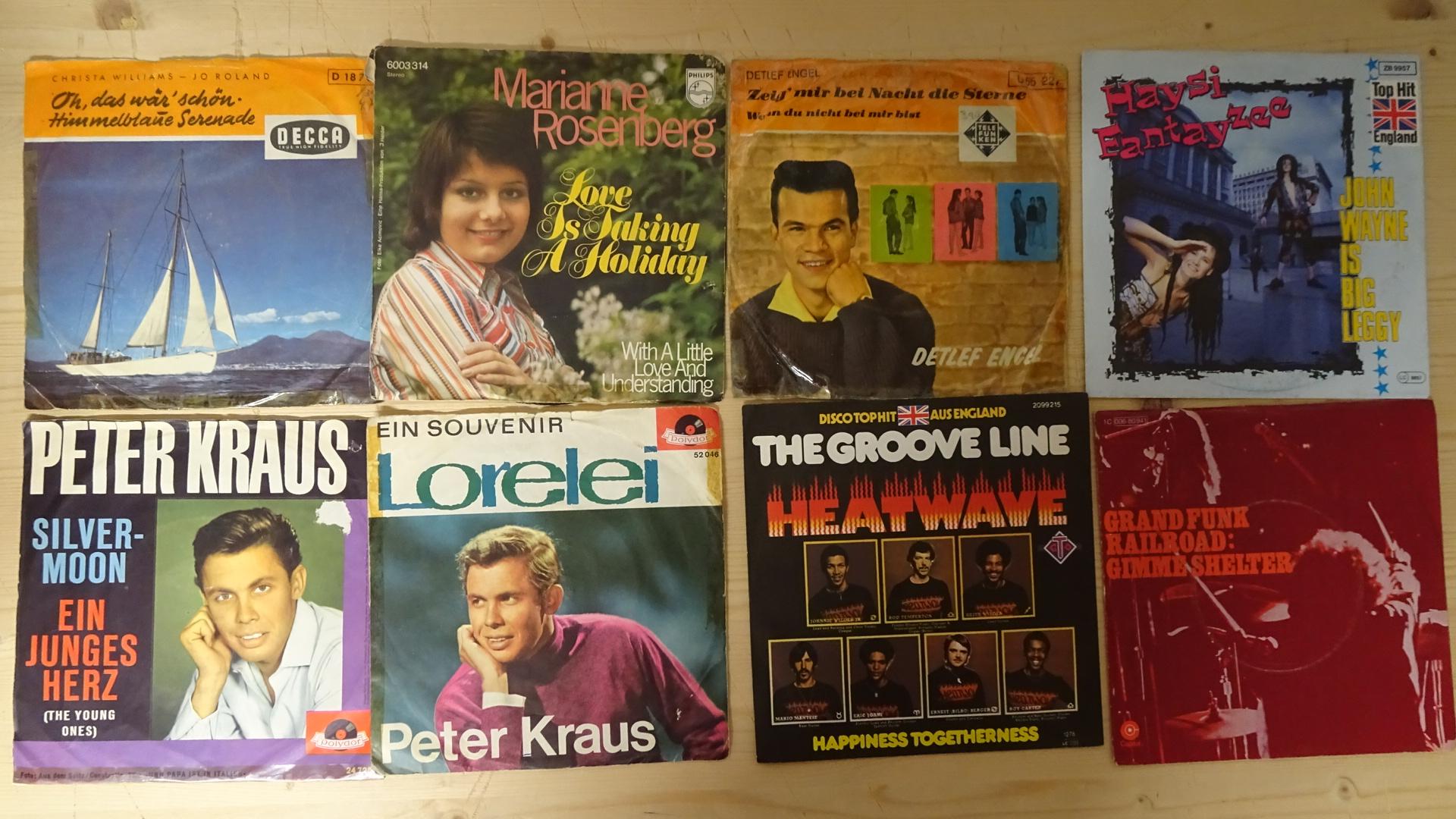 Ankauf gebrauchte Vinyl Singles Schweiz